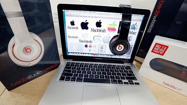 Apple kauft Beats für drei Milliarden Dollar (Bild: AP)