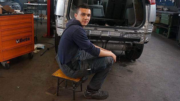 """18-Jähriger: """"So stoppte ich das Geisterauto"""" (Bild: Elred Faisst)"""