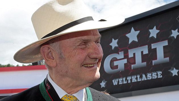 Volkswagen-Patriarch Ferdinand Piëch ist nun Ehrenbürger der Gemeinde Reifnitz (Bild: EPA/Gert Eggenberger)