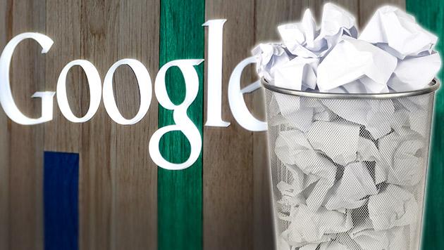 Google beginnt mit Löschung von Suchergebnissen (Bild: AP/Alan Diaz, thinkstockphotos.de, krone.at-Grafik)