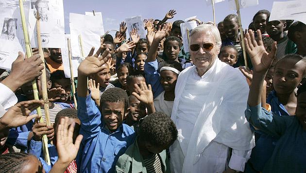 Bei der Eröffnung eines Ausbildungszentrums im äthiopischen Alem Ketema (Bild: APA/dpa)