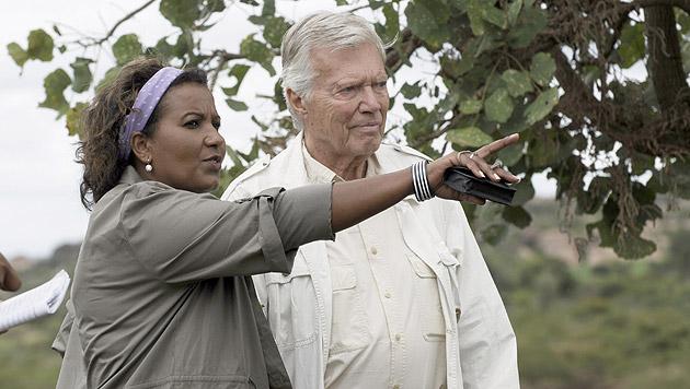 Mit Almaz in Äthiopien (Bild: dpa/Rainer Kwiotek/zeitenspiegel)