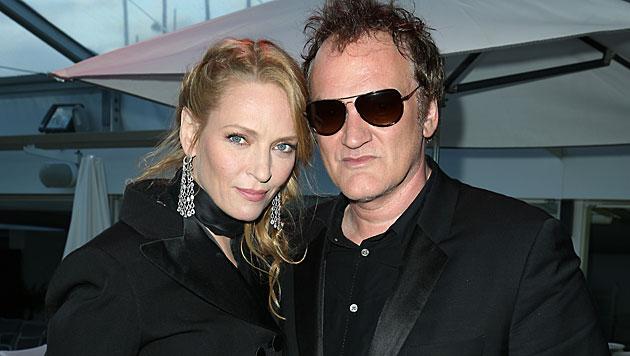 Quentin Tarantino und Uma Thurman verliebt? (Bild: Invision for Miramax)