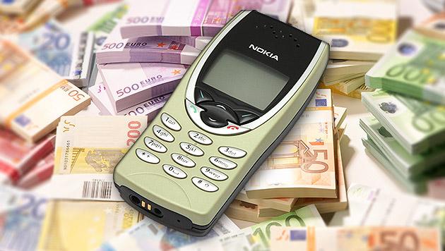 Retro-Handys werden für Händler zur Goldgrube (Bild: Krystof K./Nokia Museum, thinkstockphotos.de, krone.at-Grafik)