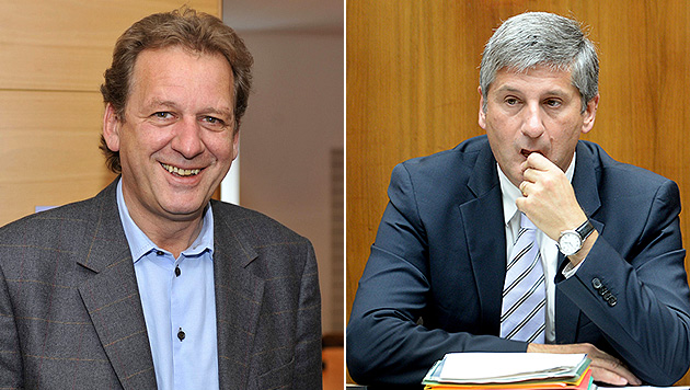 Indirekter Ruf nach Rücktritt Spindeleggers (Bild: APA/Robert Parigger, APA/Roland Schlager)