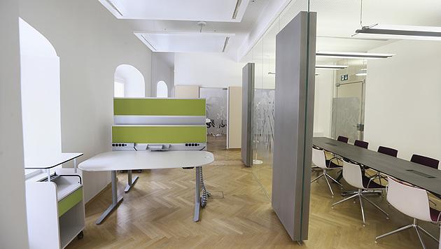 "Die neuen Büroräume des Finanzministeriums nach dem Umzug ins ""Winterpalais"" (Bild: APA/BMF/CHRISTANDL)"