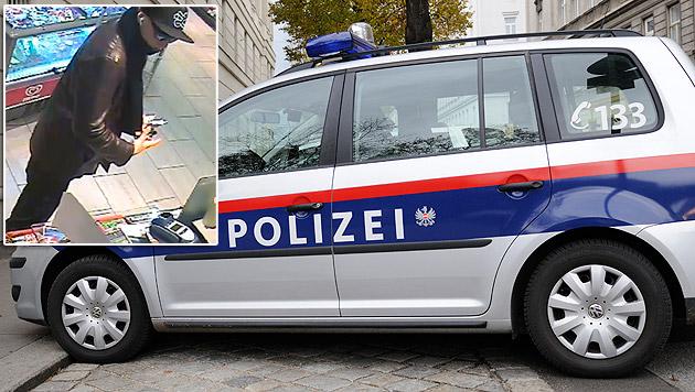 Bewaffneter Tankstellenräuber gab Schuss ab (Bild: Andreas Graf, Polizei)