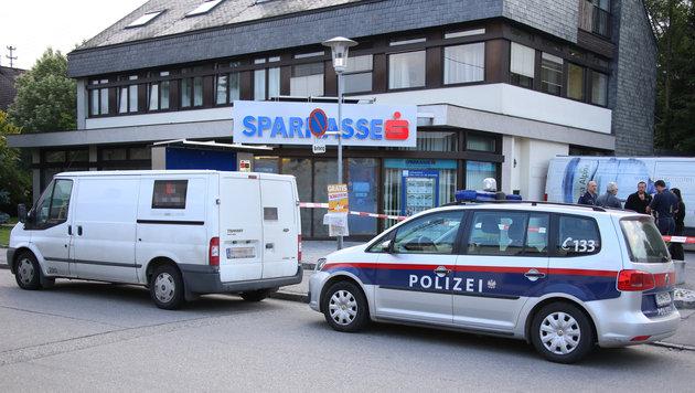 200.000 Euro Beute bei Geldboten-Überfall in OÖ (Bild: APA/LAUMAT.AT/MATTHIAS LAUBER)
