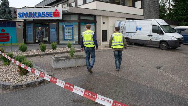 200.000 Euro Beute bei Geldboten-Überfall in OÖ (Bild: APA/Werner Kerschbaummayer/foto-kerschi.at)