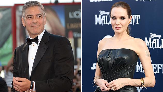 """Angelina Jolie: """"George heiratet noch vor mir"""" (Bild: EPA, Matt Sayles/Invision/AP)"""