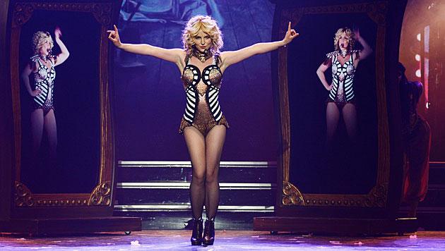 Die Tante zum Vorbild? Auch Britney Spears setzt auf Sexappeal bei ihren Shows. (Bild: APA/EPA/Denise Truscello/HANDOUT)
