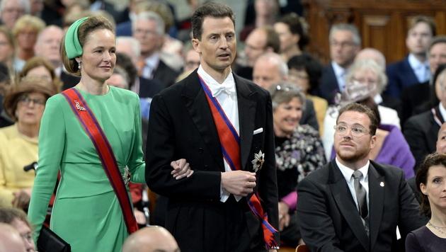 Erbprinz Alois von Liechtenstein führt seit 2004 die Amtsgeschäfte seines Vaters, Fürst Hans-Adam. (Bild: ROBIN UTRECHT / EPA / picturedesk.com)