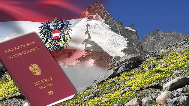 4285 Personen im ersten Halbjahr eingebürgert (Bild: thinkstockphotos.de, krone.at-Grafik)