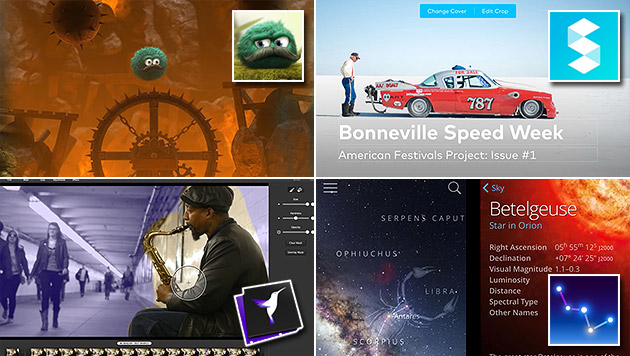 Das sind die schönsten Apps für iPhone und iPad (Bild: developer.apple.com/design/awards)