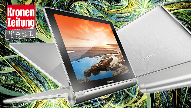 Fast perfektes Lese-Tablet: Lenovo Yoga 10 HD+ (Bild: Lenovo, thinkstockphotos.de, krone.at-Grafik)
