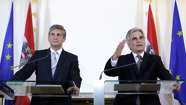 Steuerreform: Koalition immer stärker unter Druck (Bild: APA/Georg Hochmuth)