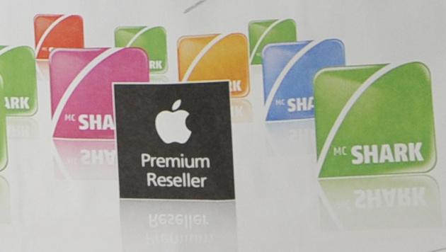 Apple-Händler mcworld/mcshark droht die Insolvenz (Bild: APA/Herbert Neubauer)