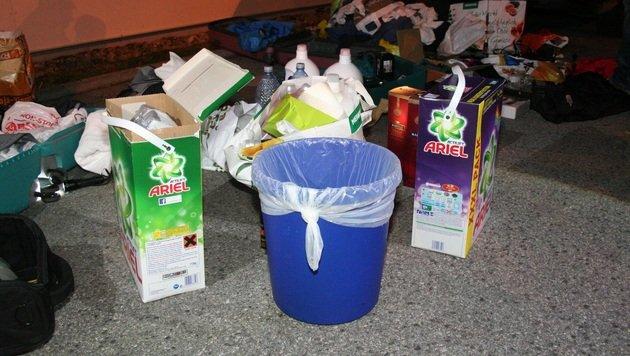 Geldboten-Überfall: Täter wollten nach Mykonos (Bild: Polizei)
