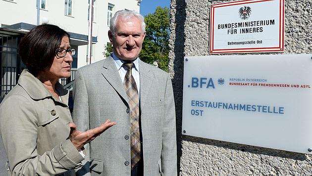 """""""Menschenwürdige Versorgung garantiert"""" (Bild: APA/ROBERT JAEGER)"""