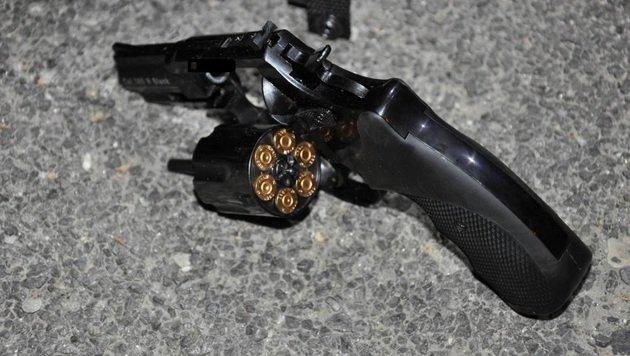 Streit um Frau eskalierte: Schüsse abgegeben (Bild: Polizei)