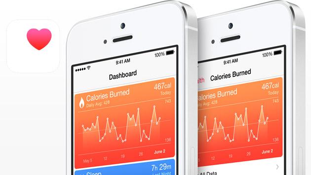 Apples HealthKit verärgert gleichnamiges Start-up (Bild: Apple, krone.at-Grafik)