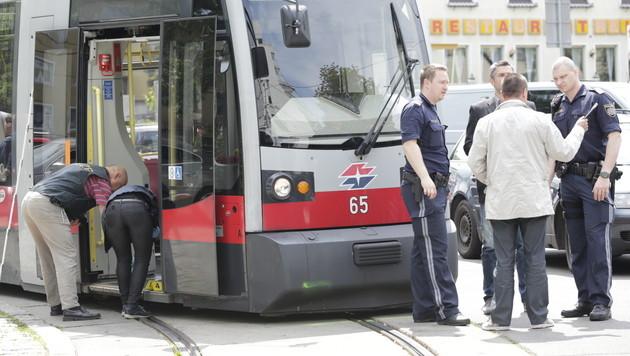 Attacke auf Straßenbahner in Wien: Opfer stabil (Bild: Klemens Groh)