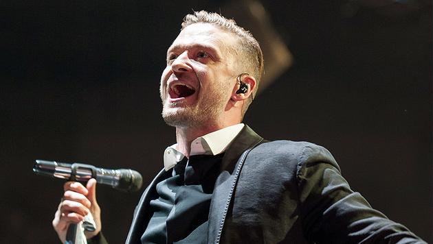 Justin Timberlake: Ein Superstar zum Anfassen (Bild: Andreas Graf)