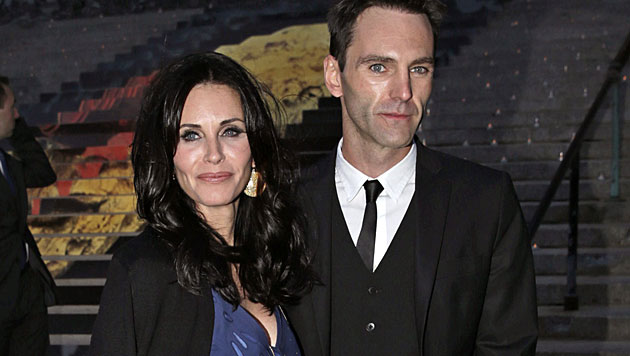Courteney Cox will Snow-Patrol-Gitarrist heiraten (Bild: APA/EPA/PETER FOLEY)