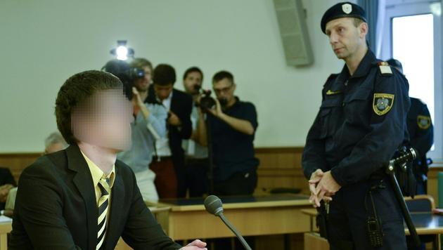 OGH bestätigt Urteil gegen Student Josef S. (Bild: APA/HERBERT NEUBAUER)