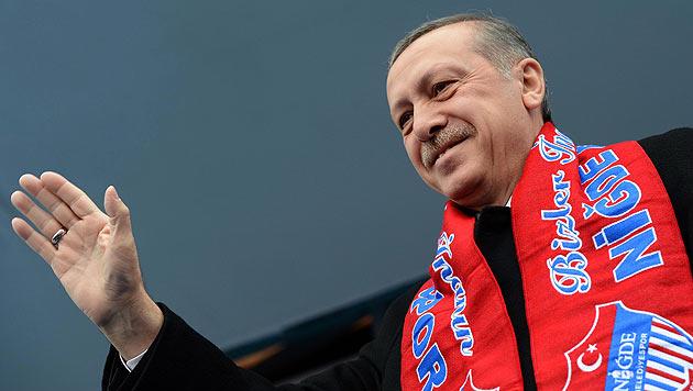 Wien wird zur Wahlkampfarena für Erdogan (Bild: APA/EPA/PRIME MINISTER PRESS OFFICE)