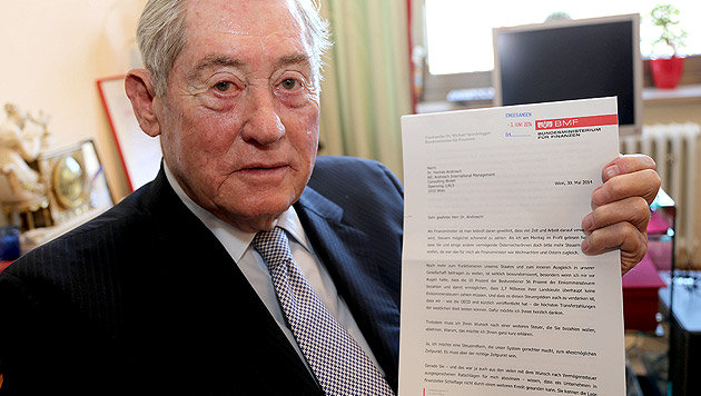 """Androsch: """"Steuerpolitik ist kein Spielzeug nicht"""" (Bild: Zwefo)"""
