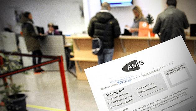 Wien: AMS investierte 242 Millionen Euro in Kurse (Bild: APA/HERBERT PFARRHOFER)