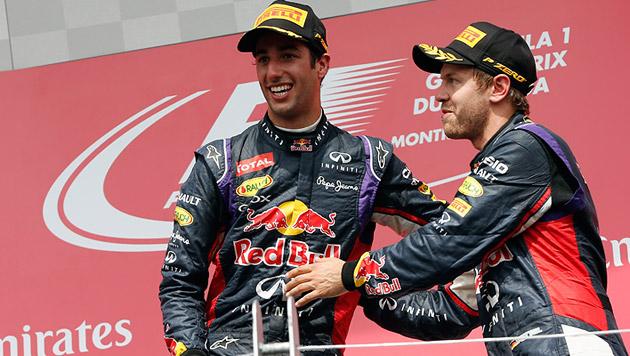 Premierensieg für Red Bulls Jungstar Ricciardo (Bild: APA/EPA/VALDRIN XHEMAJ)