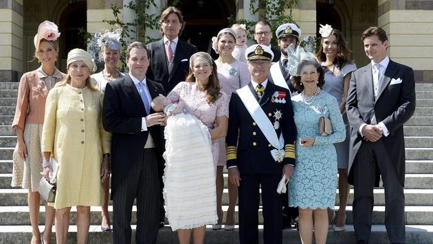 Schwedens Prinzessin Leonore getauft (Bild: APA/EPA/JESSICA GOW)