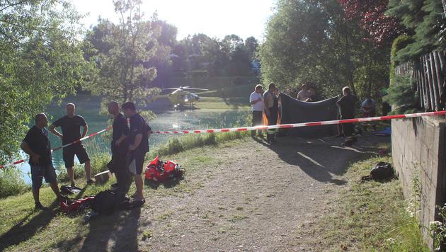 Badeunfall im Burgenland: 17-Jähriger tot (Bild: APA/TAUCHDIENST BURGENLAND)