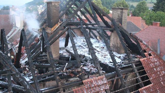 Brand in St. Veiter Altstadt - Ursache geklärt (Bild: FF St.Veit/Glan)