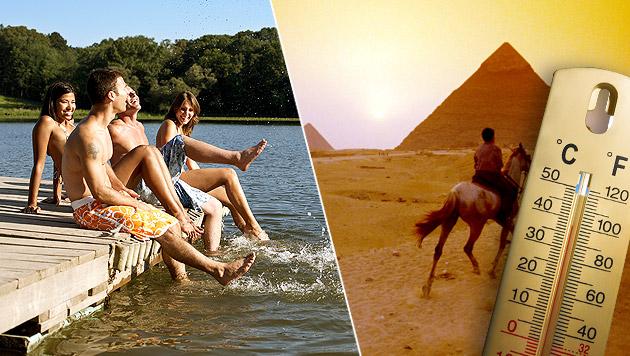 Hitze in Österreich: Es ist heißer als in Kairo (Bild: thinkstockphotos.de)