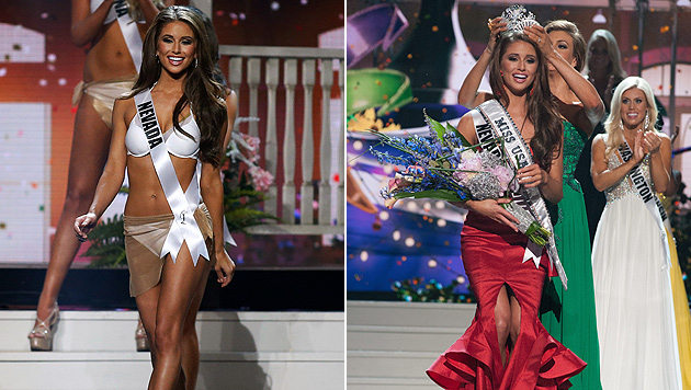 "Nia Sanchez aus Nevada ist die neue ""Miss USA"" (Bild: AP, APA/EPA/PATRICK PRATHER/MISS UNIVERSE)"