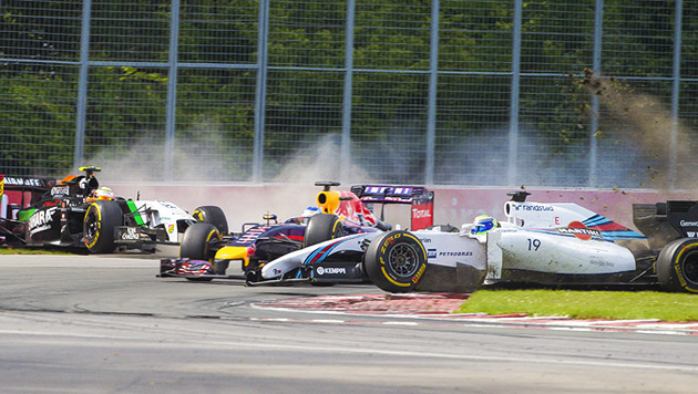 Premierensieg für Red Bulls Jungstar Ricciardo (Bild: APA/EPA/Andre Pichette)
