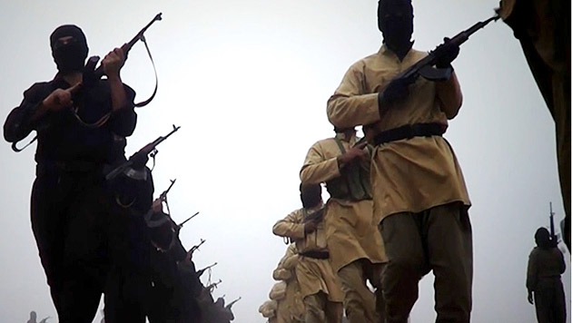 Experte: Noch 2500 Europäer kämpfen für den IS (Bild: AFP)