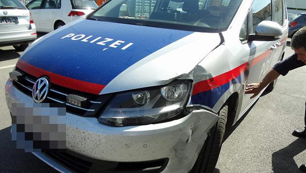 Bgld: Schüsse bei wilder Verfolgungsjagd (Bild: Polizei)