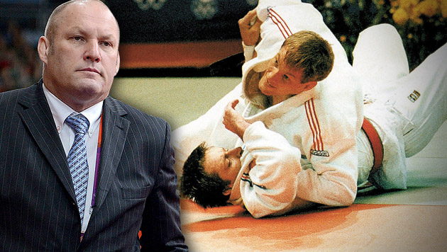Judo-Idol Seisenbacher unter Missbrauchsverdacht (Bild: APA/HELMUT FOHRINGER, krone.at-Grafik)