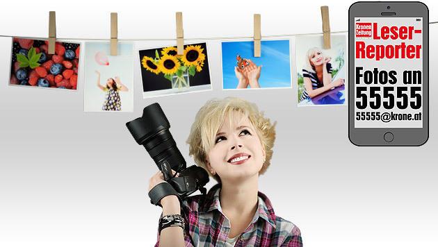 So werden Sie krone.at-Leserreporter (Bild: thinkstockphotos.de/krone.at)