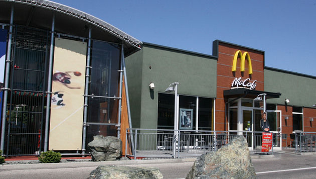 "Ktn: Brutaler Raubüberfall auf McDonald""s-Filiale (Bild: Klaus Kreuzer)"