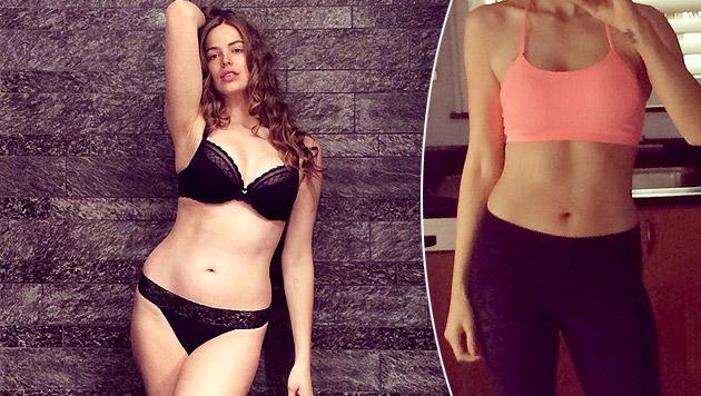 Plus-Size-Model Robyn Lawley wird immer dünner (Bild: instagram.com/ robynlawley1)