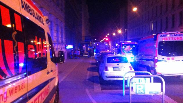 Vier CO-Unfälle in Wien: Mehrere Menschen verletzt (Bild: BERUFSRETTUNG WIEN/MA 70)