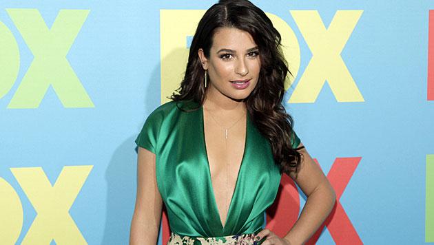 """""""Glee""""-Star Lea Michele mit einem Gigolo liiert (Bild: Andy Kropa/Invision/AP)"""