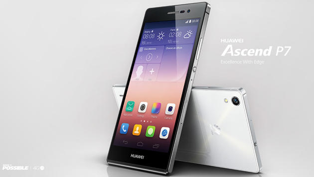 Huawei Ascend P7: Dünne Android-Flunder im Test (Bild: Huawei)