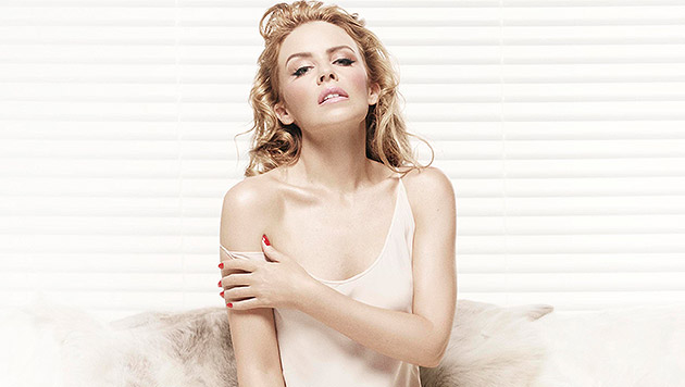 Kylie Minogue: Sexy Dessous-Fotos in Los Angeles (Bild: Warner Music)