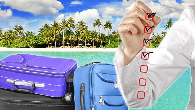 Woran Sie vor Ihrem Urlaub noch denken sollten (Bild: thinkstockphotos.de)